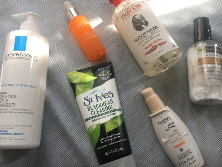 things i am currently putting on my face