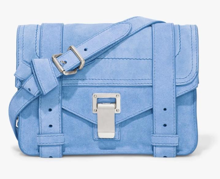 Light blue Proenza Schouler PS1 Mini Crossbody Bag
