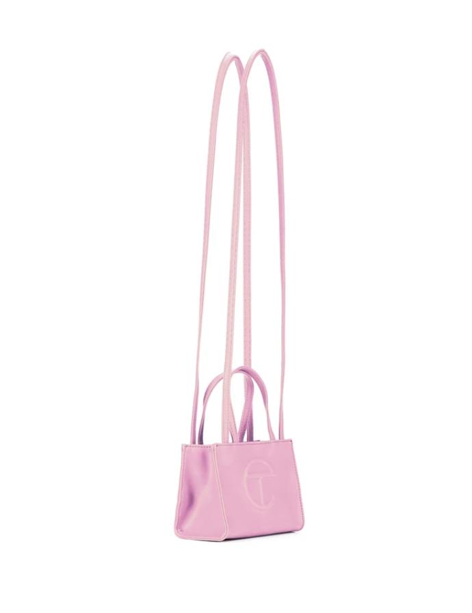 Telfar bubblegum pink small bag